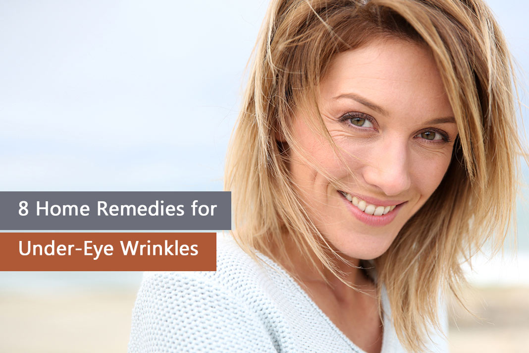 home remedies for under eye wrinkles