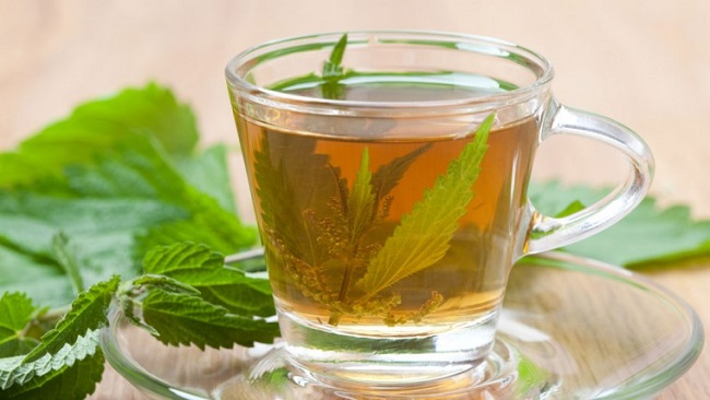 Nettle tea for menstrual cramps