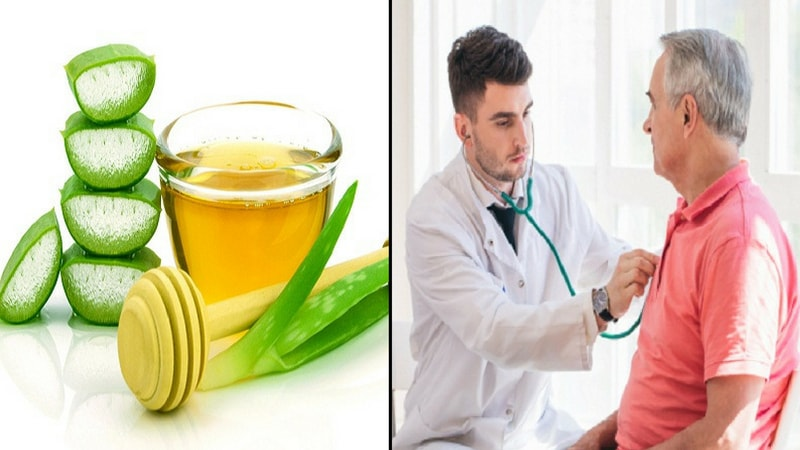 aloe vera Juice health benefits for cardiovascular health