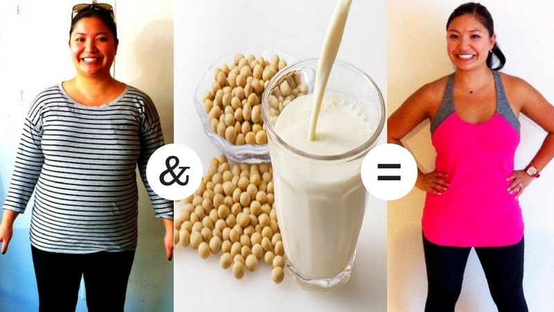 benefits of soy milk for weight loss