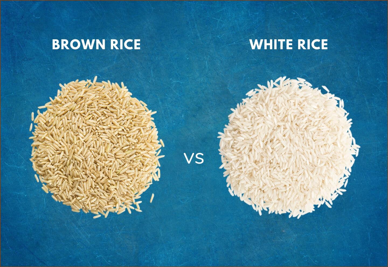 brown rice vs white rice -