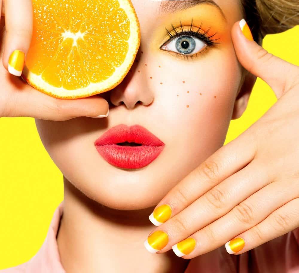 orange oil for skin
