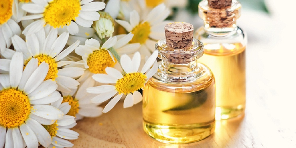 chamomile essential oil for sore muscles