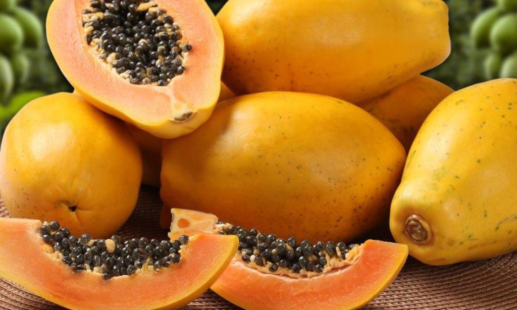 get rid of dark spots on feet with papaya