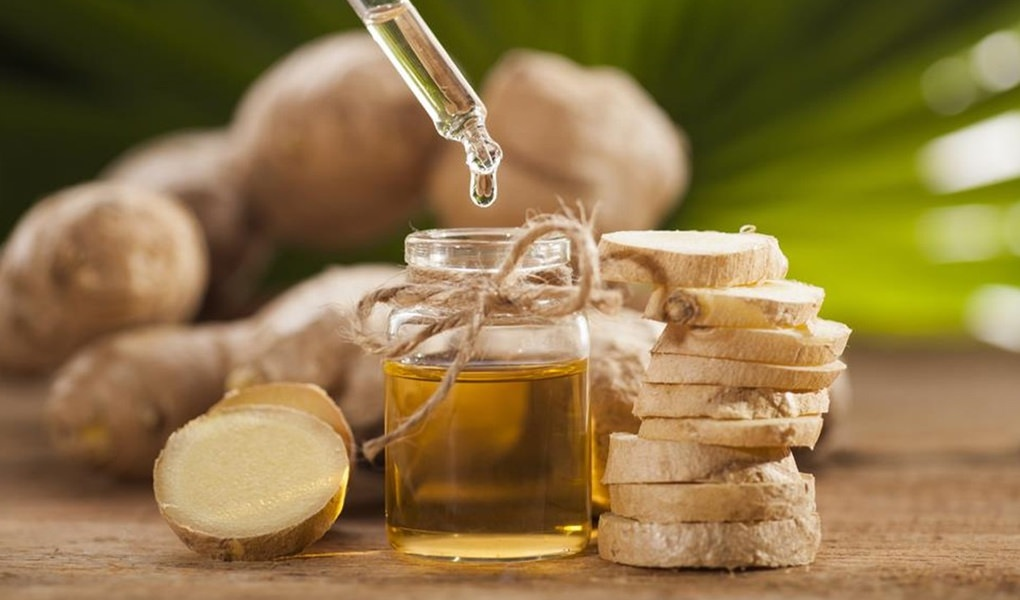 ginger oil for migraines