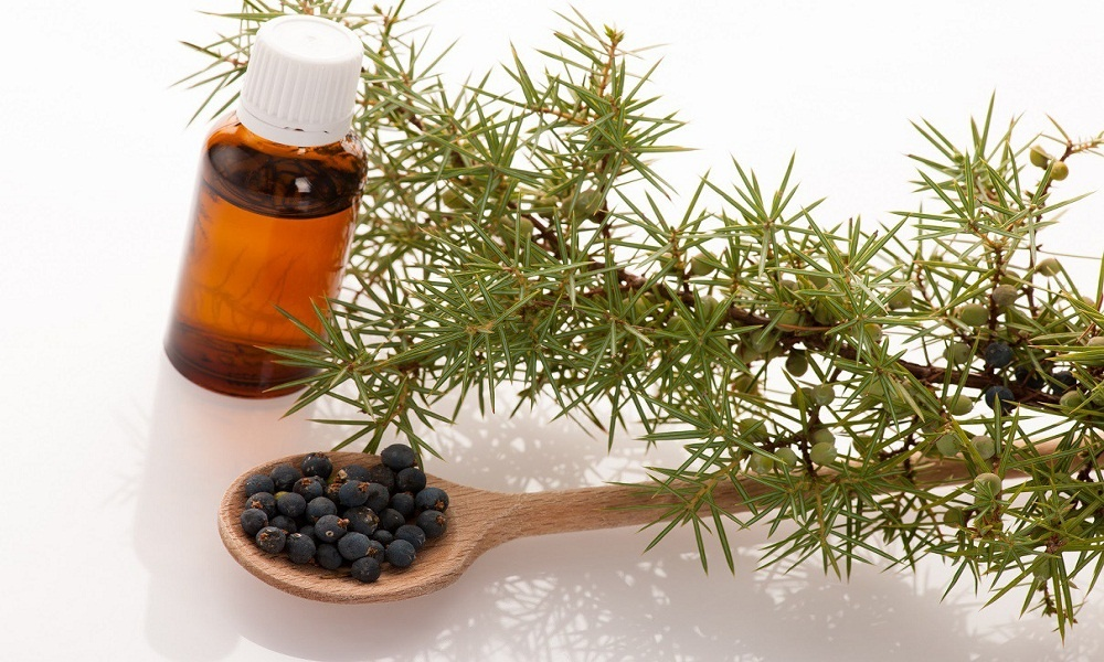 juniper essential oil for sore muscles