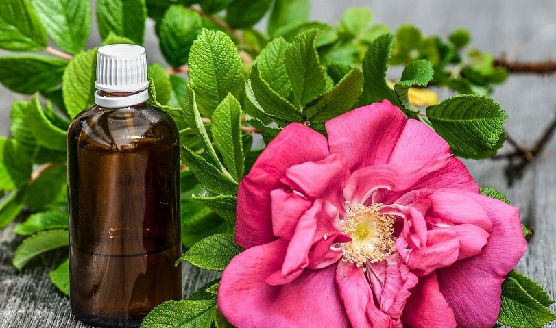 rose essential oil for reducing period pain