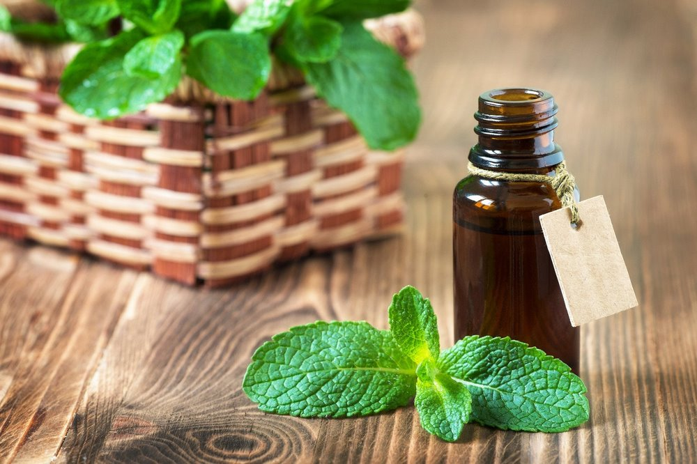 Peppermint essential oil for menopause