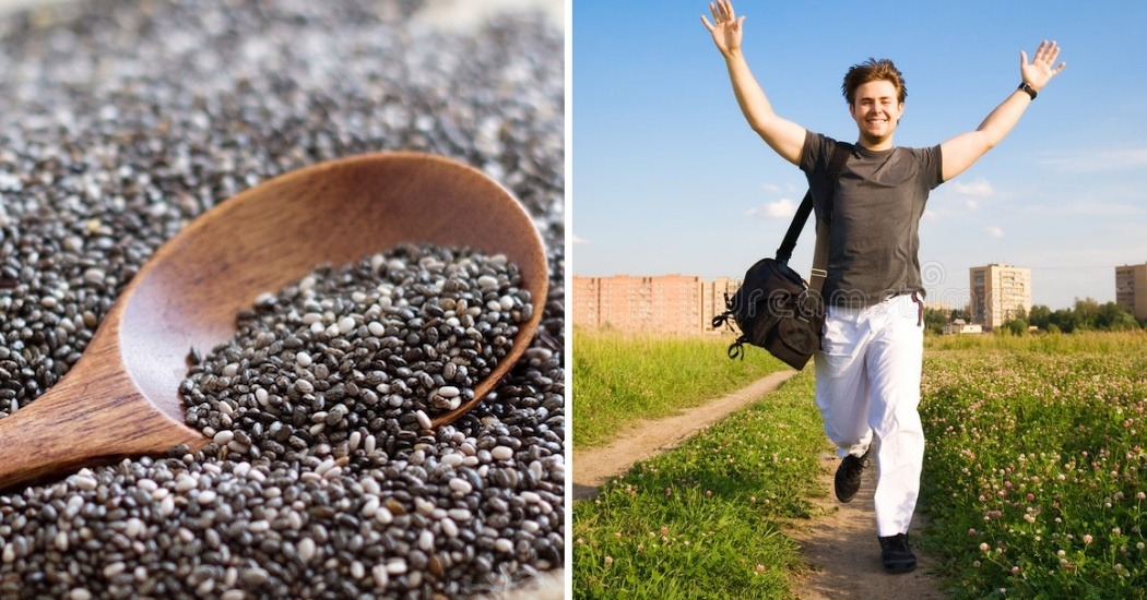 chia seeds keep you young and active