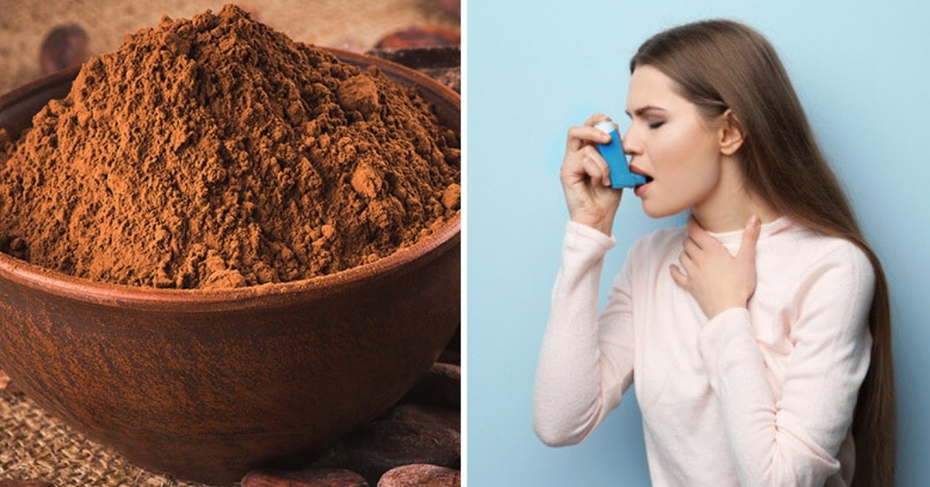 cocoa powder for combats asthma