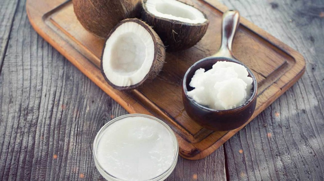 coconut oil to cure itchy bumps on feet