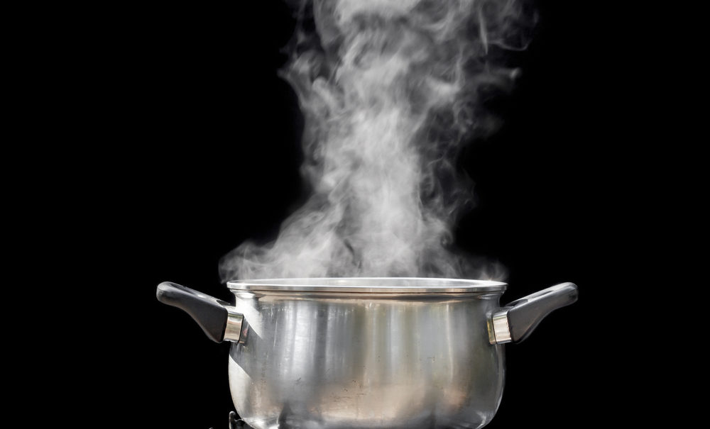 cure aging face by the steaming