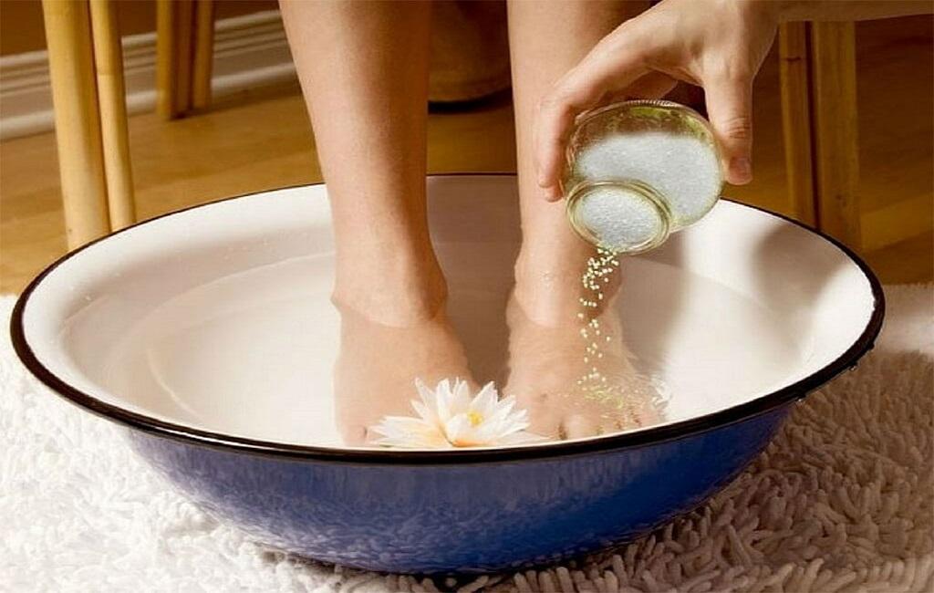epsom salt water bath for boil