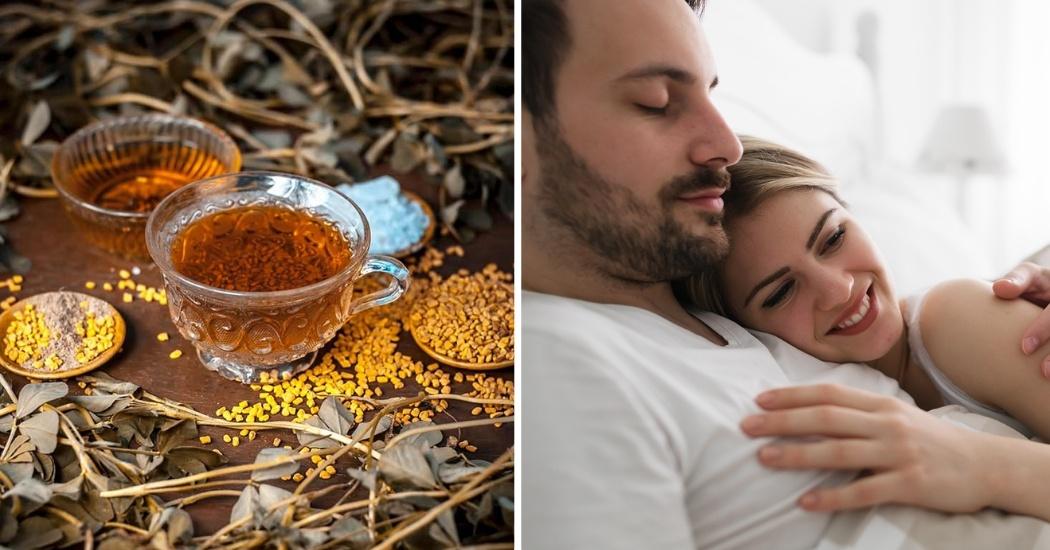 fenugreek tea improves the sexual health of men