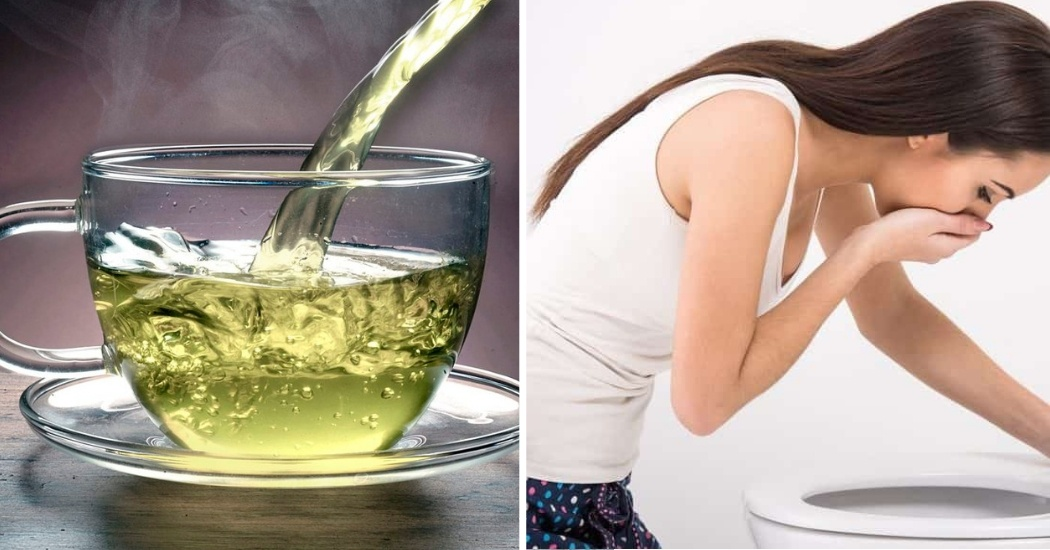 green tea causes nausea and vomiting