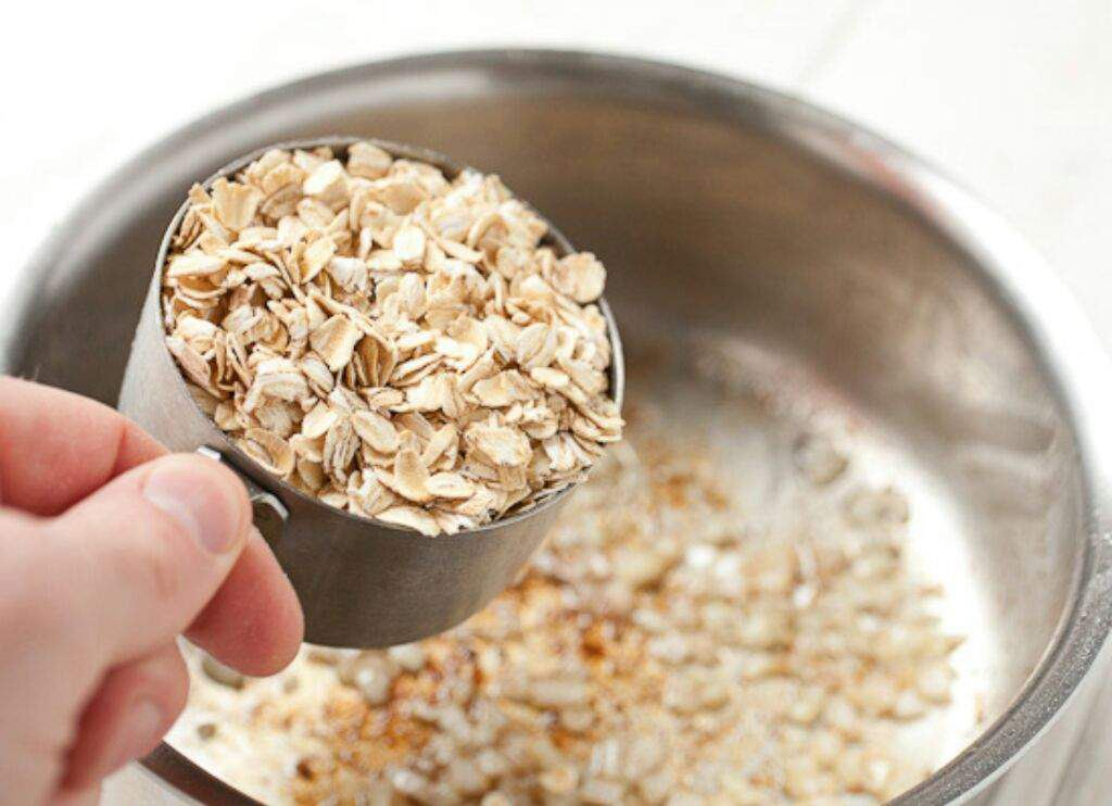 oatmeal for acne scabs
