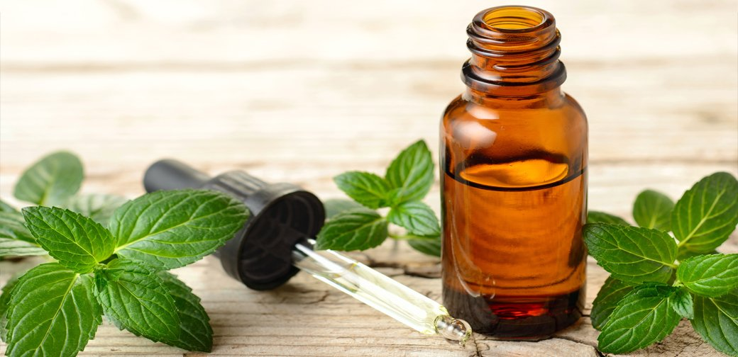 peppermint essential oil for heat rash