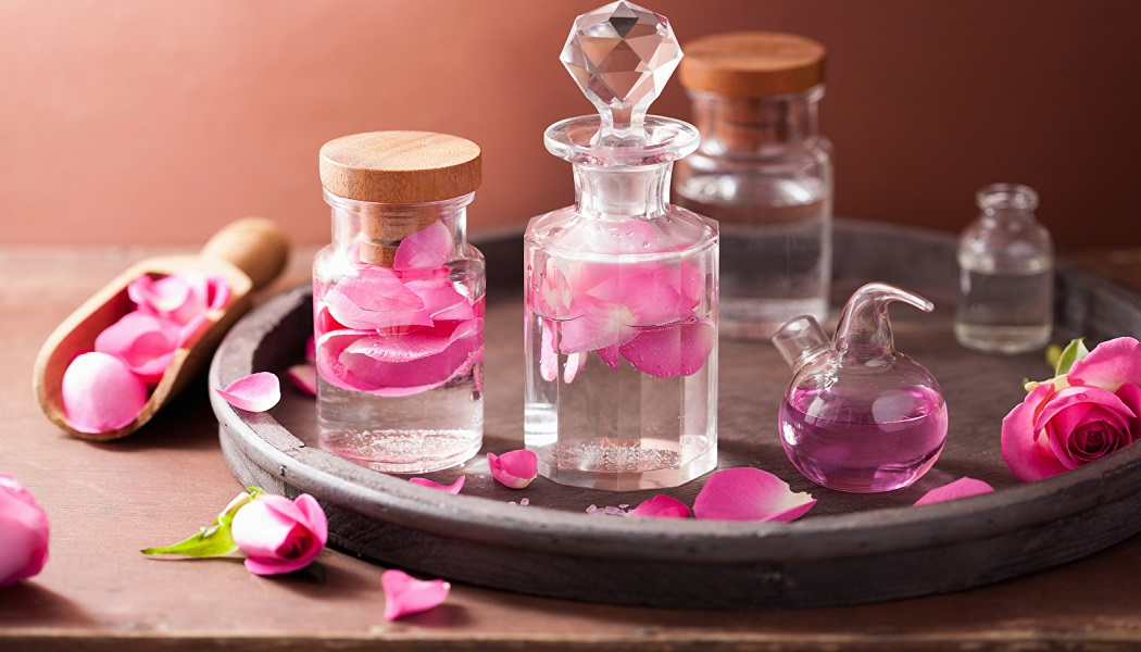 rose oil for itching