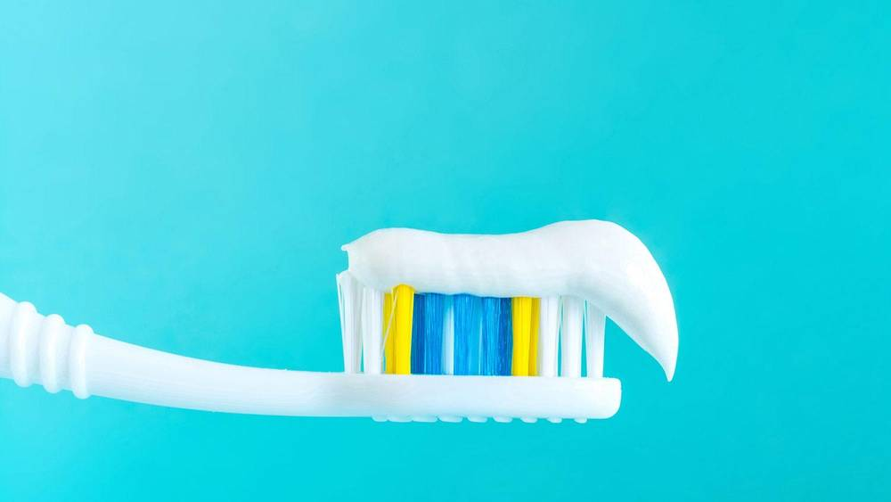toothpaste for boil