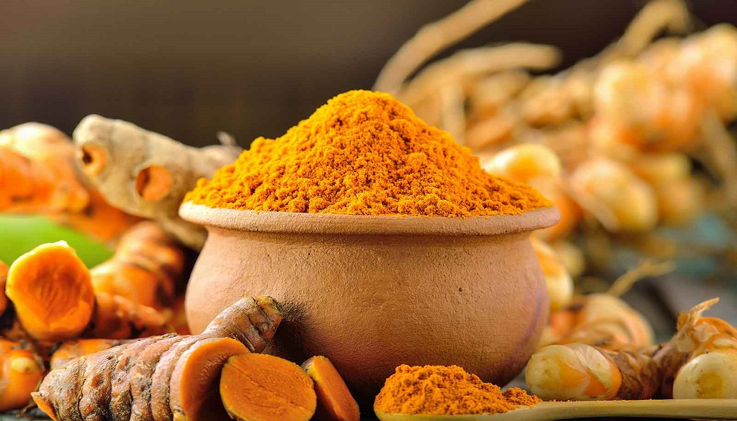turmeric to get rid of a blood blister