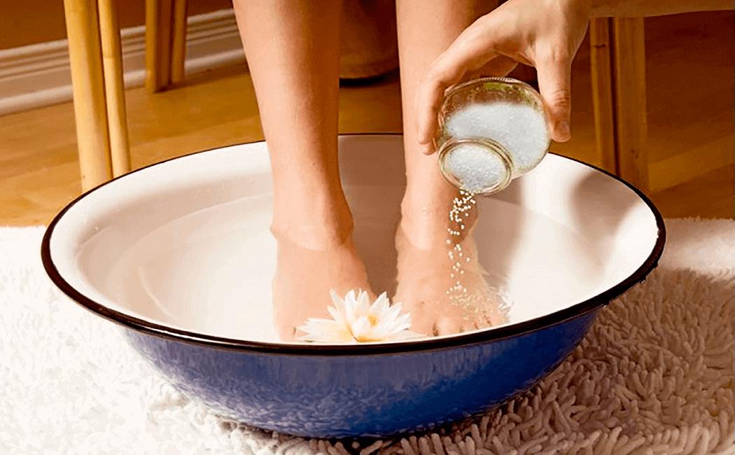 epsom salt bath to cure hormonal acne