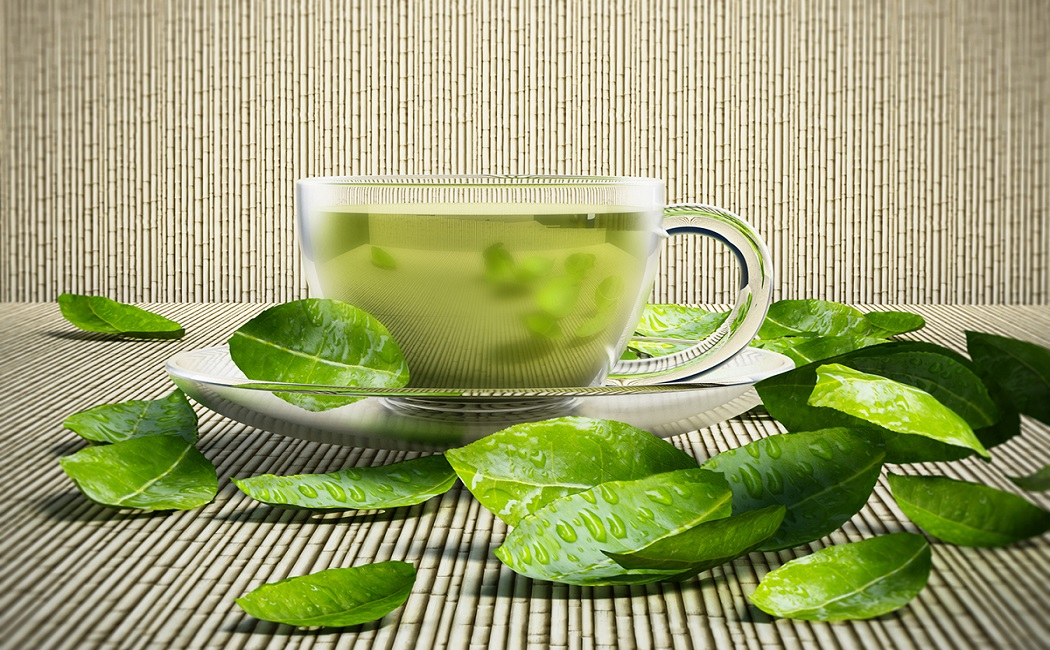 green tea for small sagging breasts
