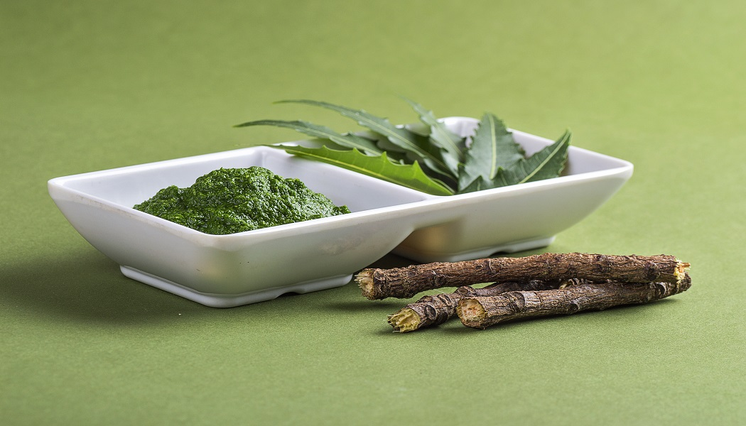 neem leaves to get rid of a cyst