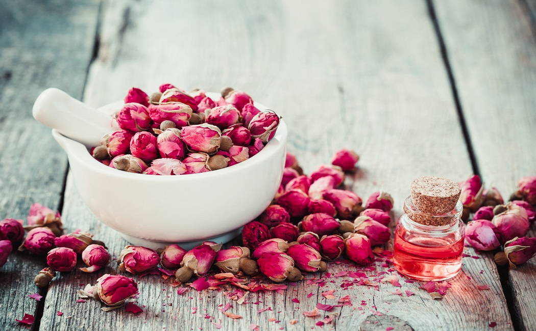 rose essential oil for memory loss