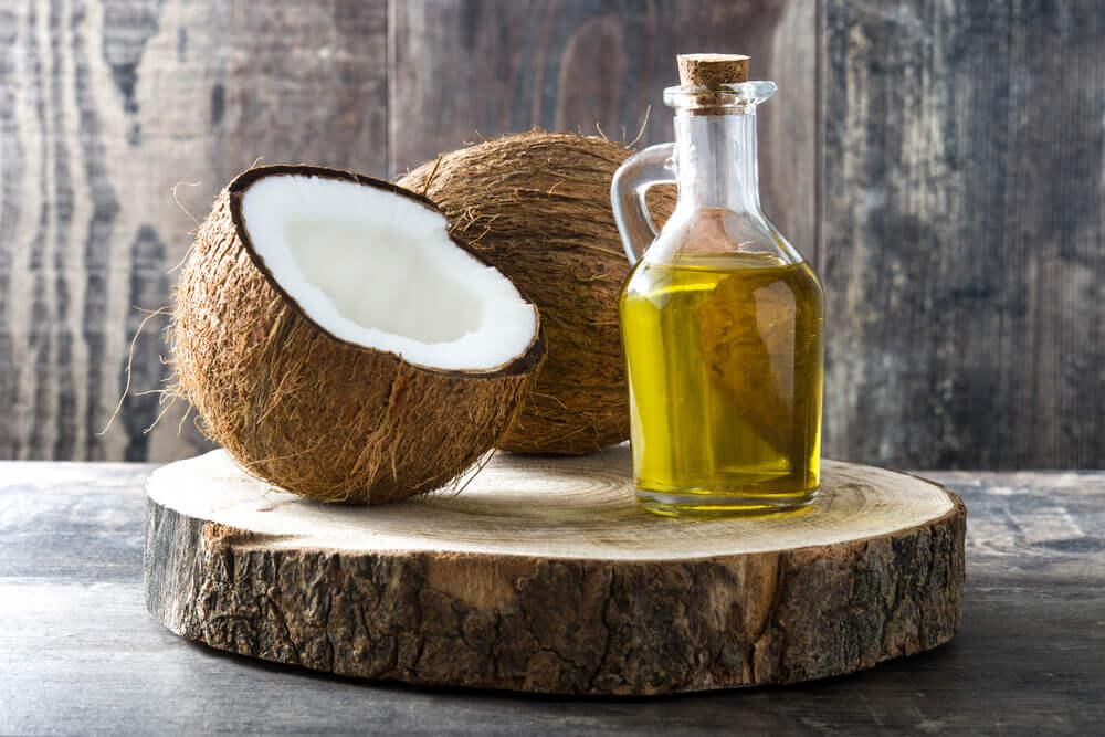 coconut oil for acne.
