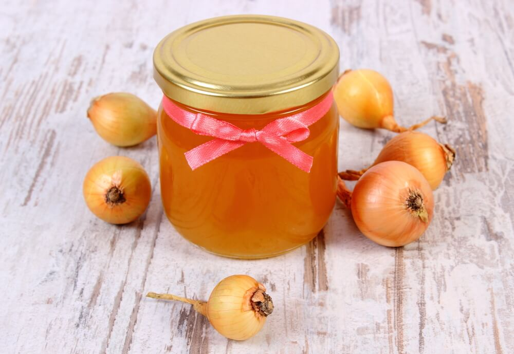 honey and onion juice for hair growth