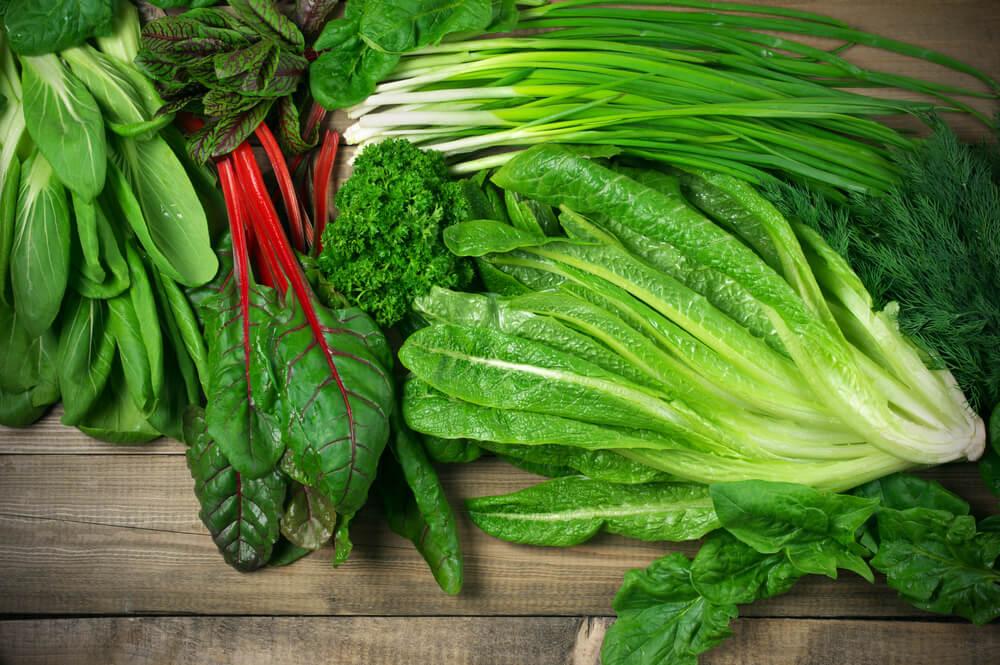 leafy vegetables benefits