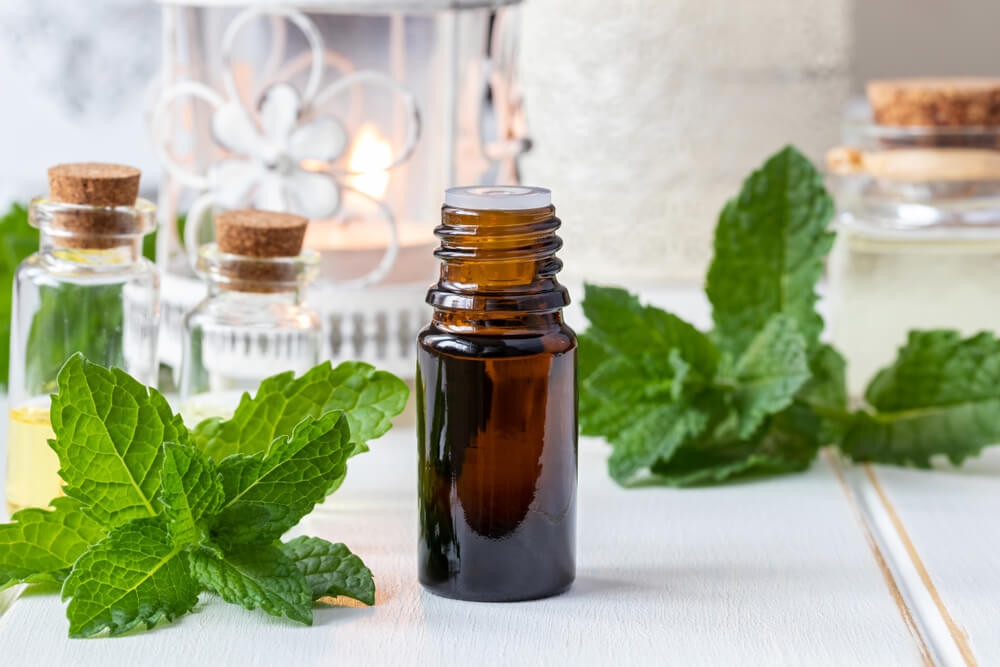 Peppermint Oil for Toothache