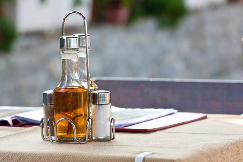Vinegar with Salt