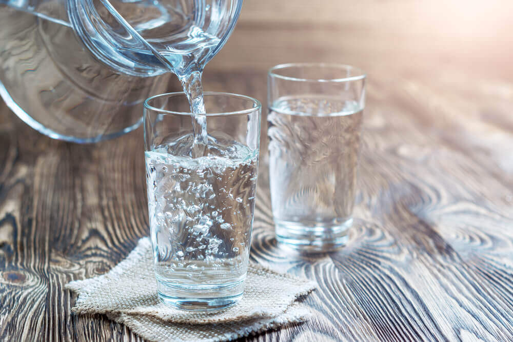 Water with Glass
