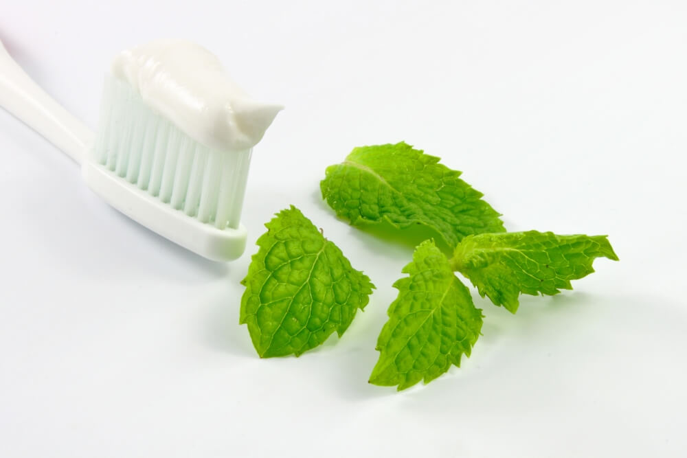 Mint-Flavoured Toothpaste
