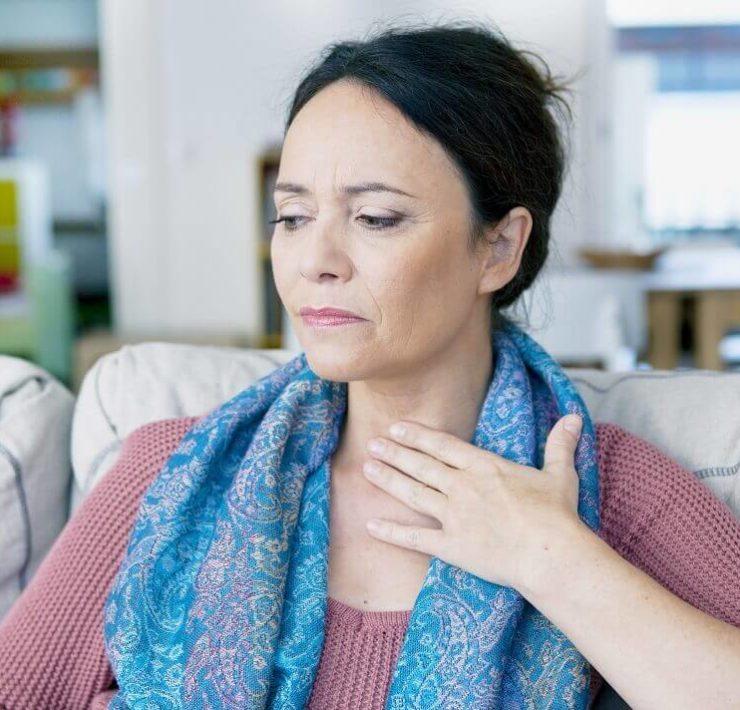 salt water for sore throat