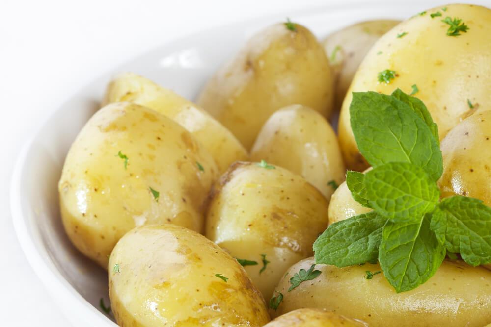 Potato and Mint
