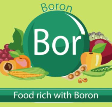 foods high in boron