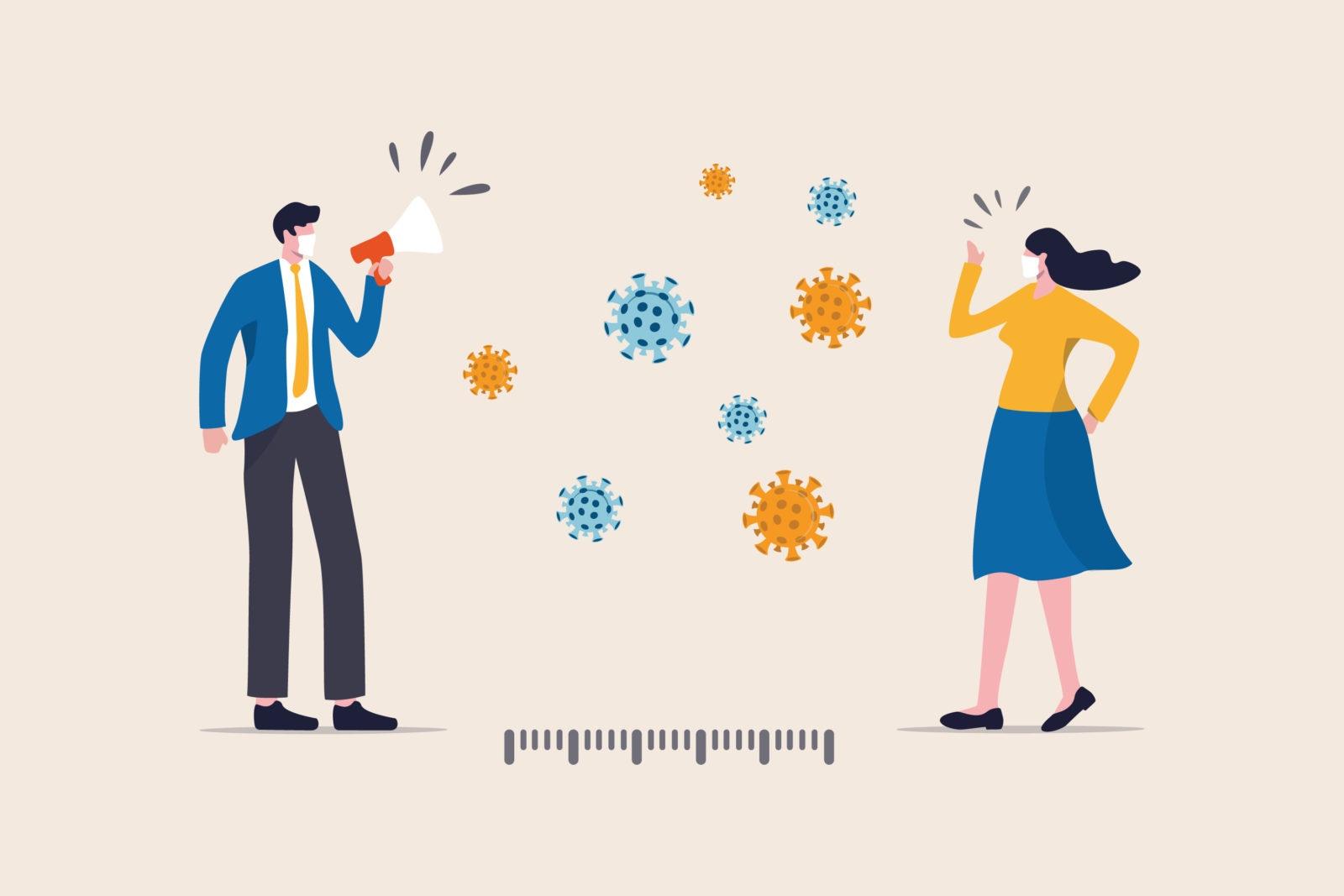 Social distancing vs physical distancing