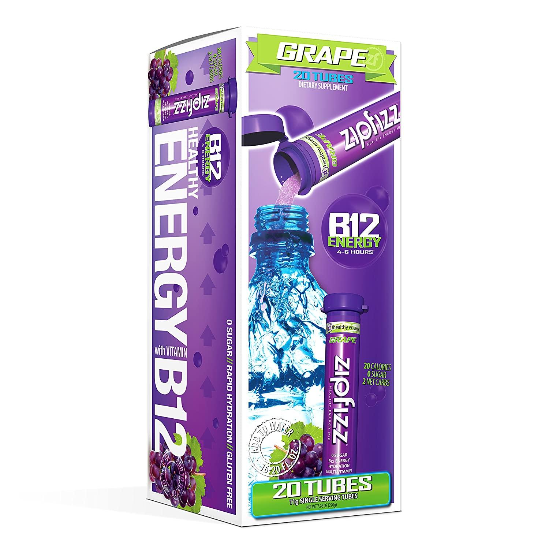 zipfizz energy drink hydration with b12