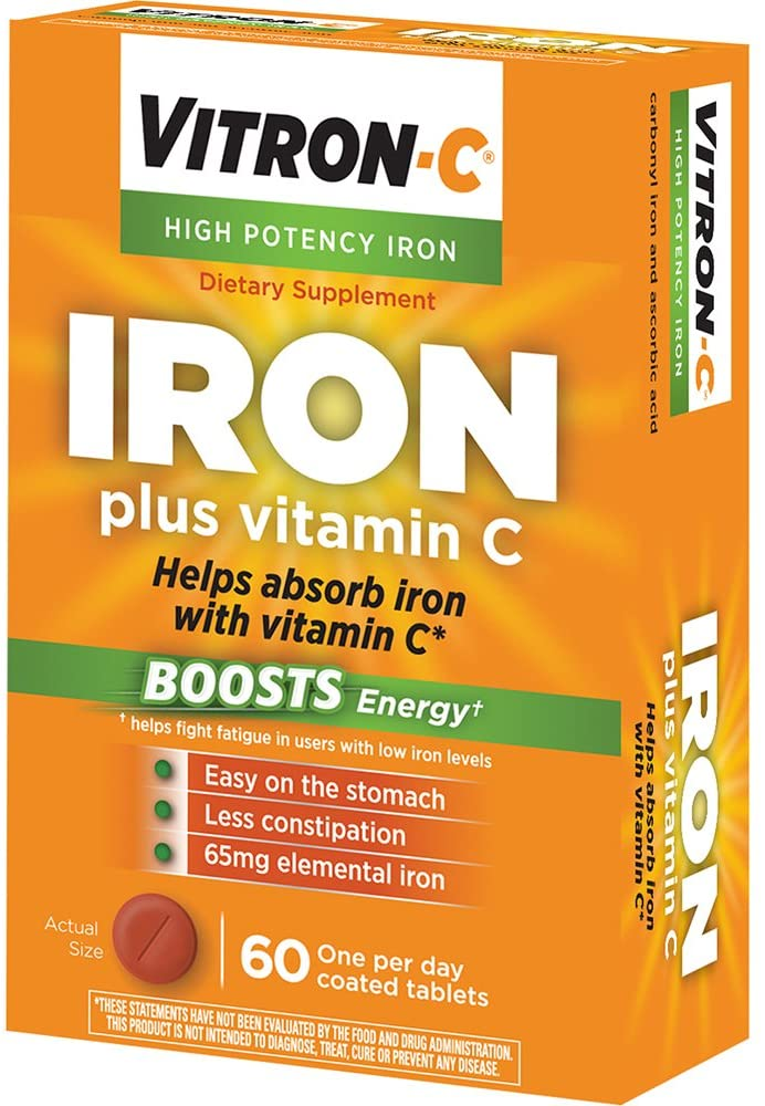 Vitron C - Iron supplement with Vitamin C